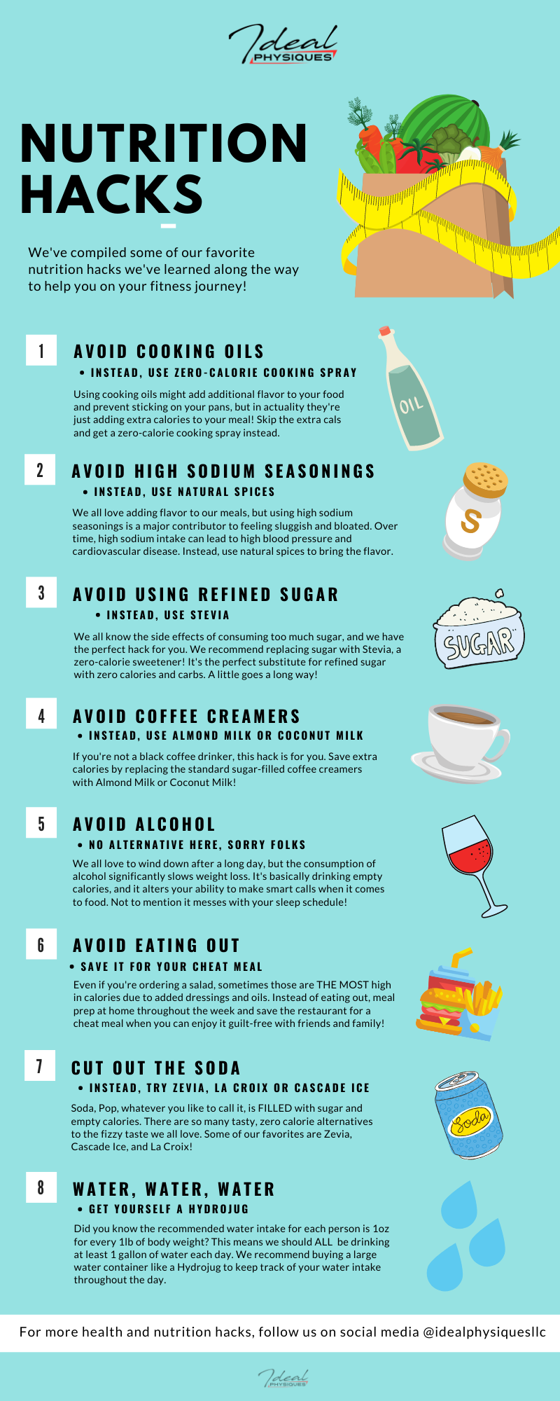 8 Nutrition Hacks for a Healthy Diet